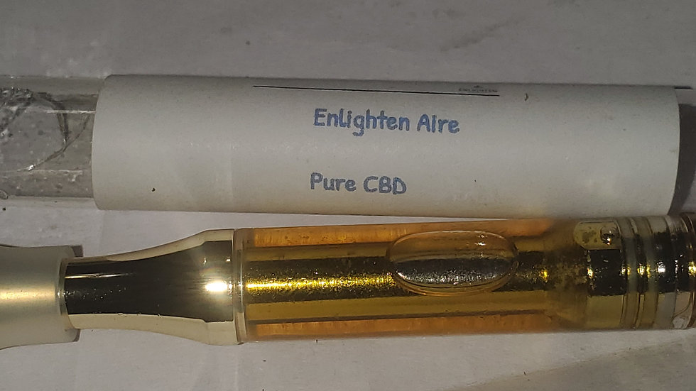 Enlighten CBD cart 1g