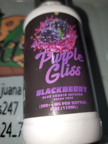 Blue cookies  thc syrup 4oz