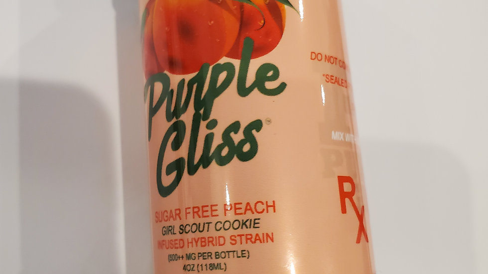 Purple Gliss Peach syrup 4oz