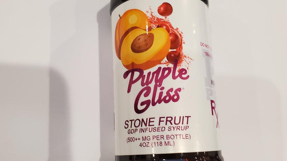 GDP Stone Fruit thc syrup 8oz