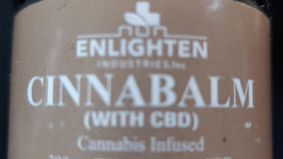 Cinnabalm thc/cbd oil