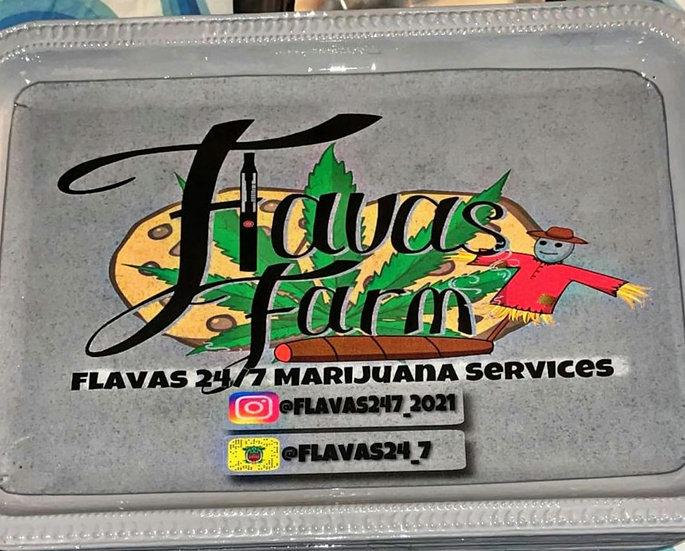 Flavas Farm rolling tray