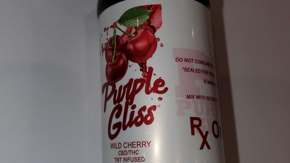 Wild cherry cbd & thc syrup 4oz