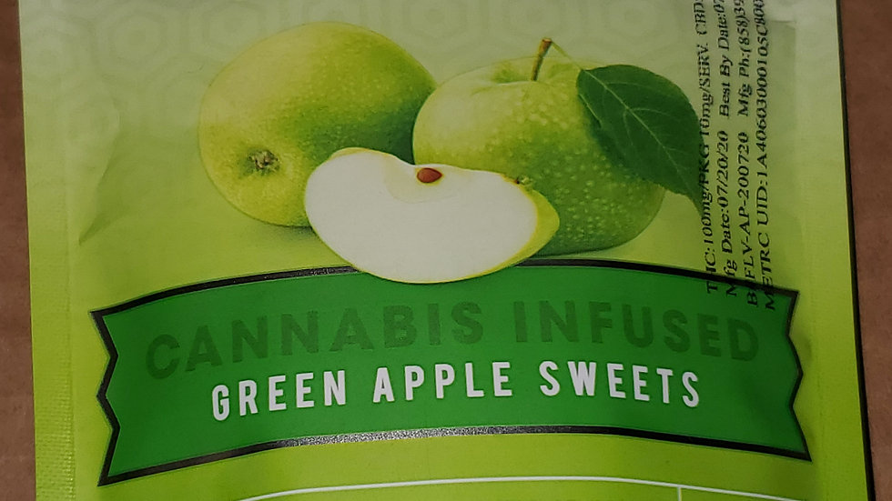 Flav green apple hard candy (buy 2 get 1)