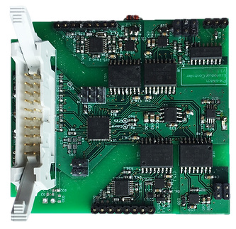 Full Pre-Switch architecture half-bridge, with ZVS controller and Pre-Switch Blink™