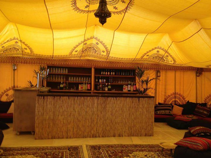 Morrocan themed bar