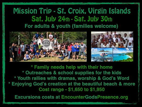 Mission Trip St. Croix Virgin Island Scr