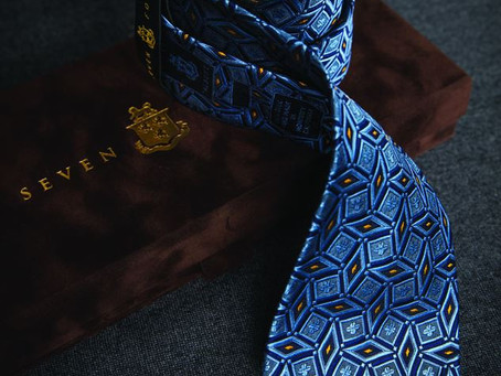 Luxury in the seven fold tie - why you need one!
