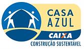Logo Selo Casa Azul Caixa
