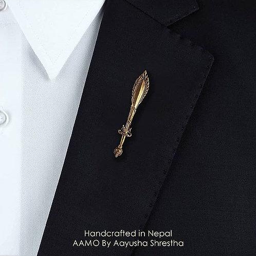 Manjushree Flaming Sword Pin