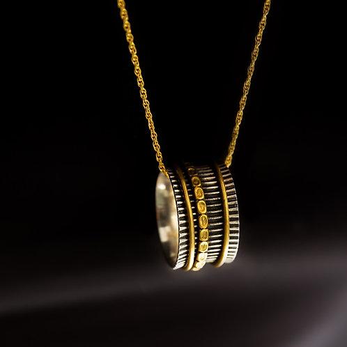 Textured Ring Pendant