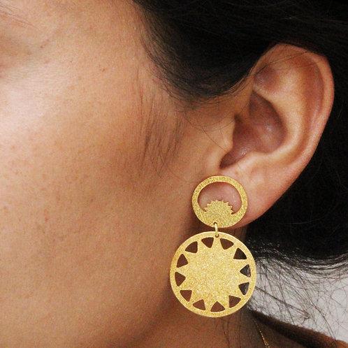 Chandra Surya Large Earrings