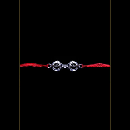 Single Vajra thread bracelet