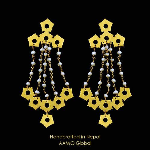 Padma Pahila with pearls