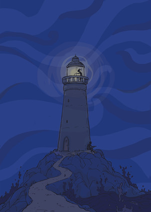 Poster theatervoorstelling 'Lampje'