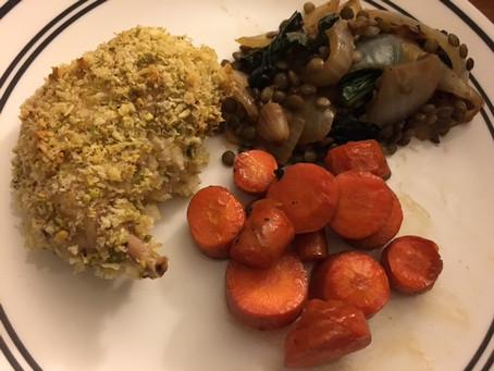 Recipe: Pistachio-Parmesan Crusted Rabbit