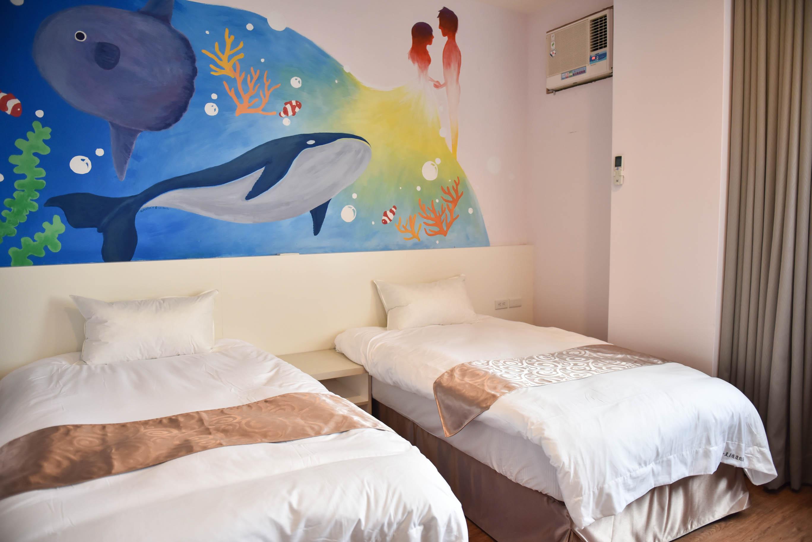 時尚漫遊雙床、雙人房2