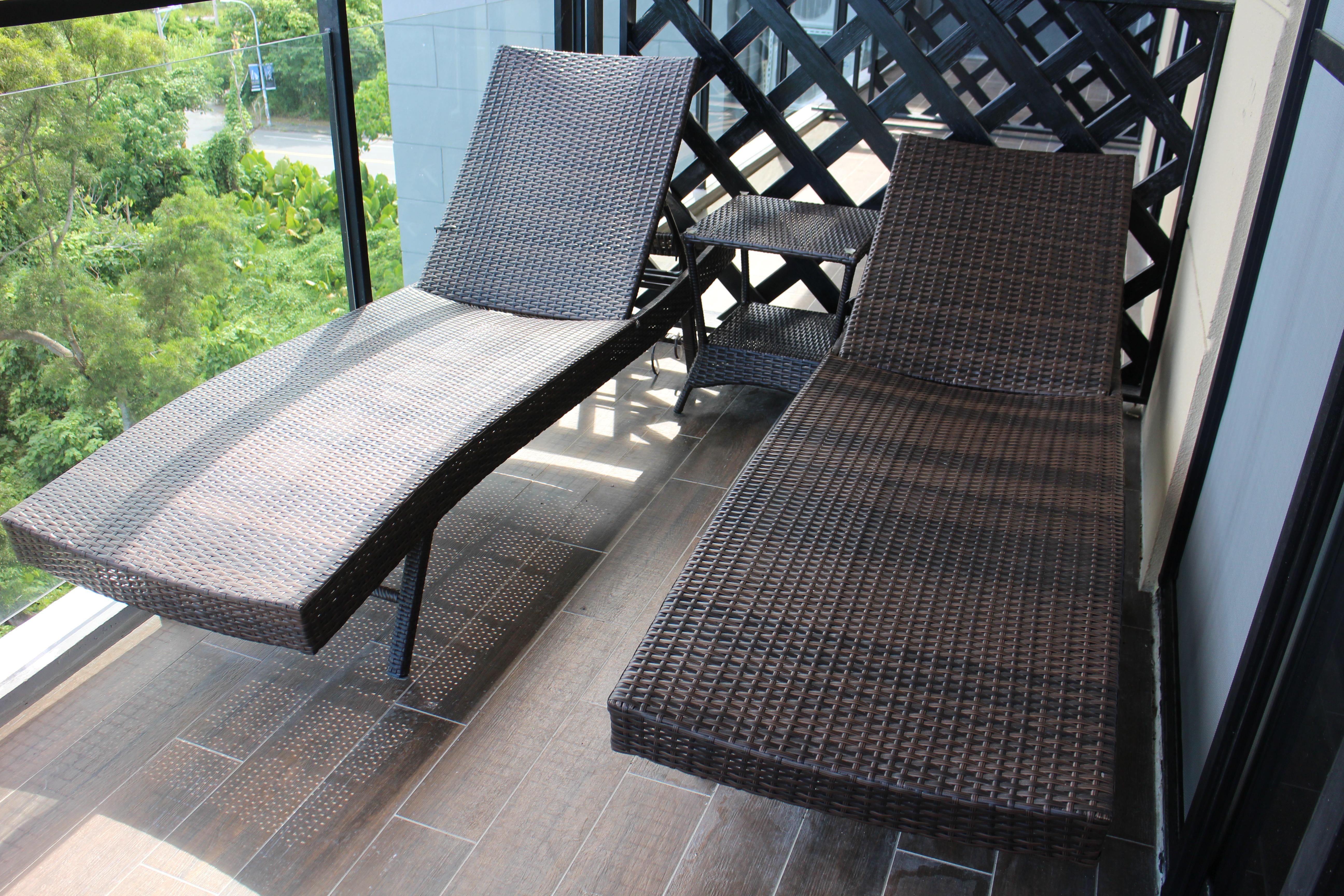 躺椅、座椅無指定隨機安排