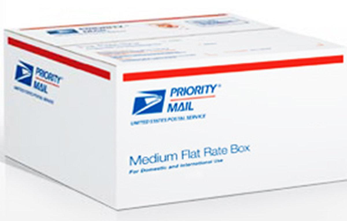 USPS Flate Rate Priority Medium Box