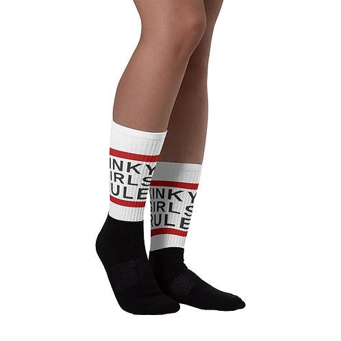 KINKY GIRLS RULE Socks