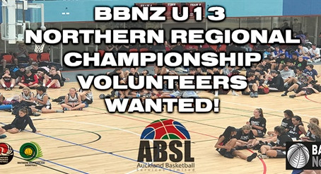 Volunteers Wanted! - U13 Northern Regional Championships