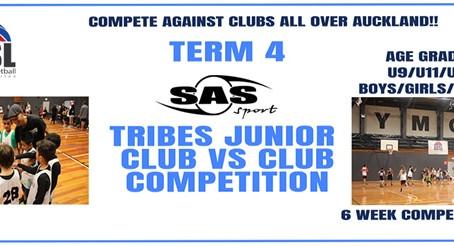 Term 4 SAS Tribes Junior Club vs Club Competition