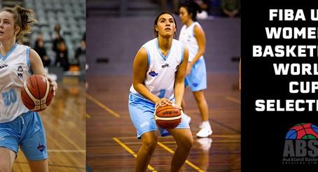 U17 FIBA Women's Basketball World Cup - Good luck Sharne & Shauna!