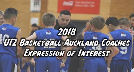 U12 Basketball Auckland Coaches Expression of Interest!