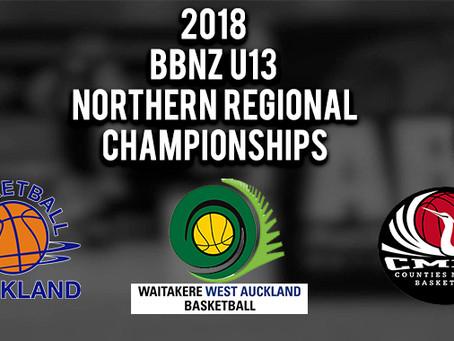 BBNZ U13 Northern Regional Championships Re-Cap