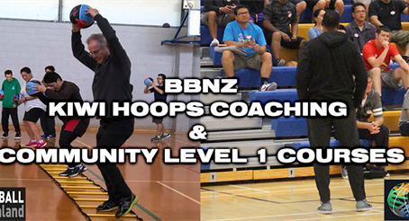 Kiwi Hoops & Community Coaching Level 1 Courses