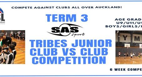 Term 3 SAS Tribes Junior Club vs Club Competition
