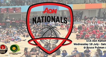ABSL hosting U15 Aon National Championships this week!
