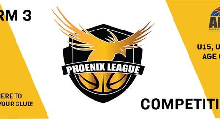 Term 3 Phoenix League Club Competition