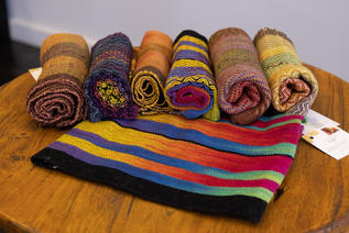 Kitchen Towels by Donna Morris -