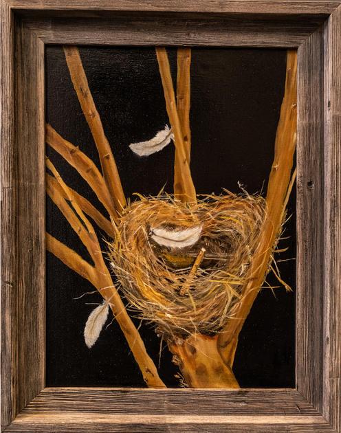 """""""Three Feathers"""" by Gulzar Boghani"""