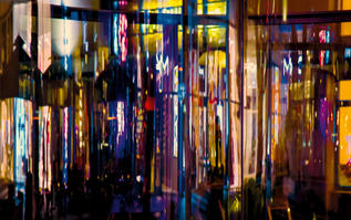 """""""Storefronts, Miami"""" by Bruce Hyer"""