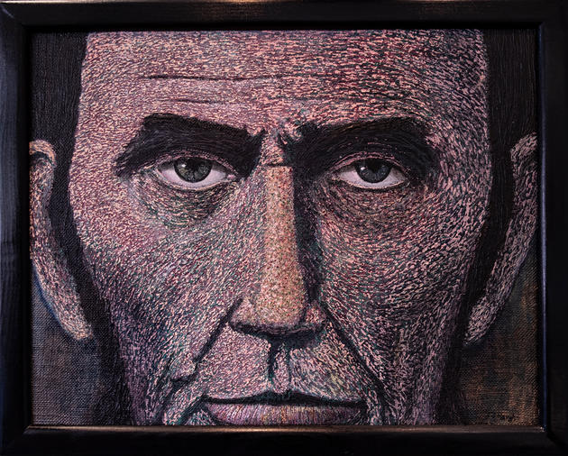 The Eyes of Abe Lincoln by Tim Haugh