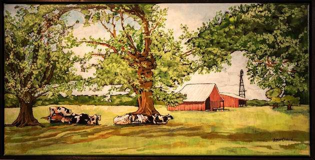 "Georgia Series - ""Break Time"" by Vickie McCrary"