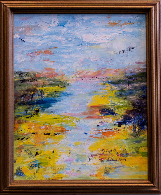 Georgia Gold by Barbara Pirkle SOLD