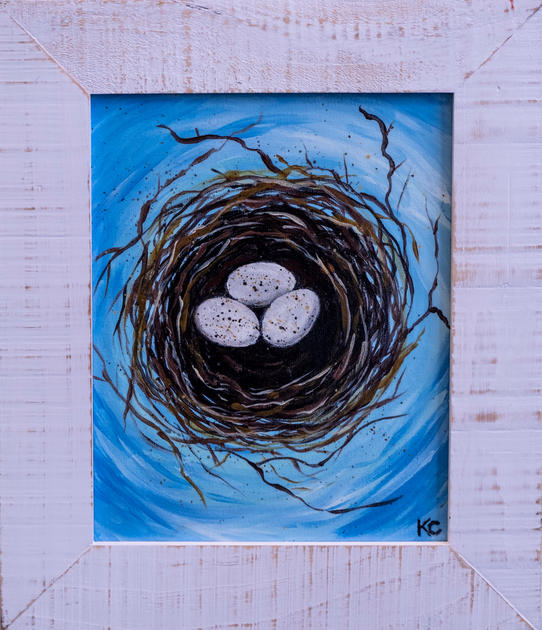 Nesting No. 4 by Kim Crowe