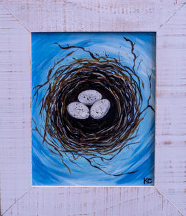 Nesting No. 4 by Kim Crowe