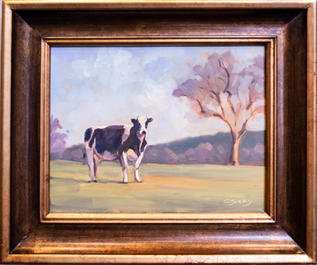 Curious Cow by Catherine Susky
