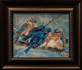 """""""Snowing Again?"""" by Joanne Croghan"""