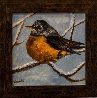 """""""Bird on a Branch"""" by Margaret Masak"""