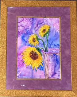 """""""Sunflowers"""" by Shirley Shepherd"""