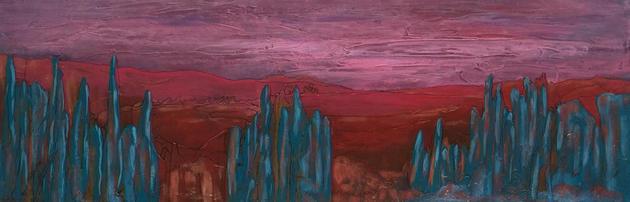 Pink Skies by Shirley Shepherd