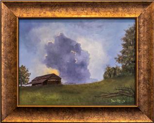 """Barn Light Sky"" by David Phillips"