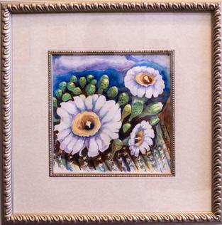 Saguaro with Bonnet by Sharon Nichol