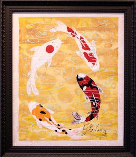 Koi's by Jim Zhang