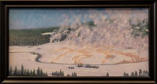 """Yellowstone Upper Geyser Basin Sunrise"" by Dale Gore"